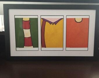 Ed Edd & Eddy Minimalist 8.5 x 11 Prints