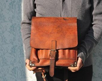Items Similar To Leather Bag Unisex American Buffalo