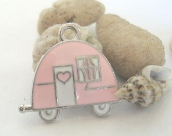 Gypsy Love Wagon Charm,Beach Charm