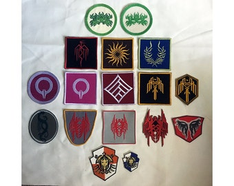Dragon Age 2 Heraldry Embroidered Patches