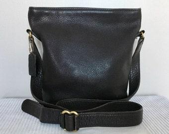 Vintage COACH Sonoma Brown Pebbled Leather Hobo Shoulder Bag Purse