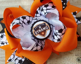 Houston Dynamo Hairbow