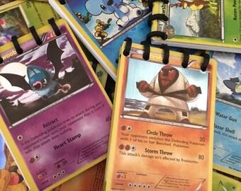Ten (10) Pokemon Card Mini Notebooks!!! Pokémon Birthday party - Pokémon party favors