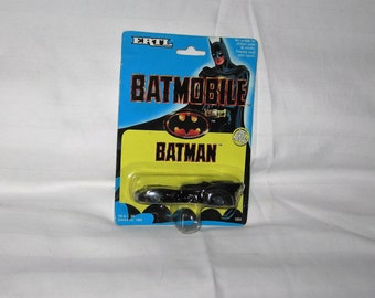 vintage 1989 ertl batman diecast batmobile