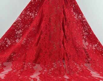 Black lace fabric for dress,bone eyelash lace fabric,cored lace ,red lace for dress,lovely dress lace-145cm*150cm