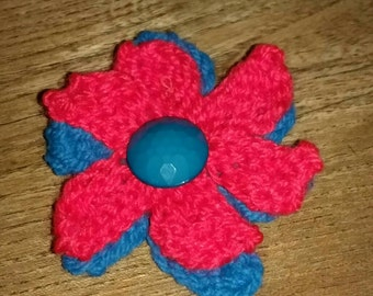 Handmade Knitted Badge