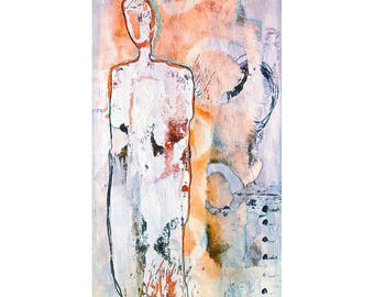 "Art Print ""Solitary No.4"""