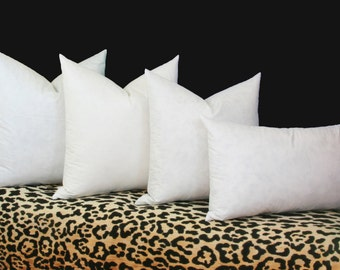 High quality synthetic pillow inserts 16x16 pillow insert 18x18 pillow insert 20x20 pillow insert 22x22 pillow insert 24x24 pillow insert