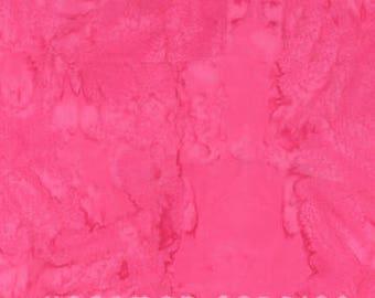 Hoffman Fabrics Watercolors Radish Pink 1895-434-Radish Bali Batik Fabric