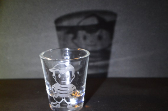 Ness shot Glass