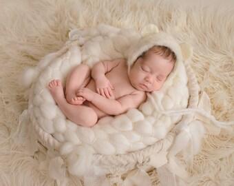 17 colors SOFTEST MARSHMALLOW blanket 100% woolblanket prop, layering blanket,  bumpy blanket, photography props, newborn props, photo props