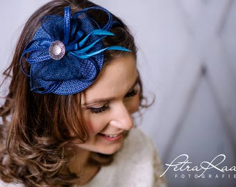 Headband Fascinator royal has bridal Hat bridal hair jewelry wedding wedding bridal has Z3