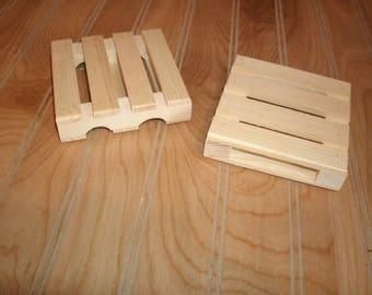 1 - pallet coaster, wood pallet coaster, coaster, wood coaster, mini pallet coaster,drink coaster,