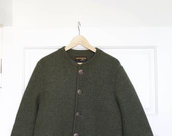 GEIGER Tyrol 52 Vintage Green Coat retro vintage jacket