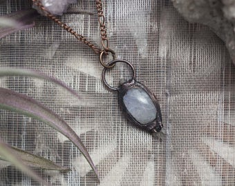 Winter Moon Necklace ( Clearance )