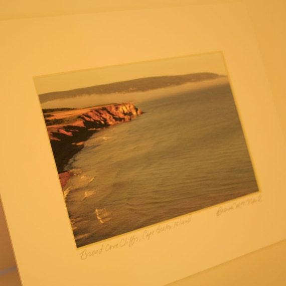 Broad Cove Cliffs - Cape Breton Island