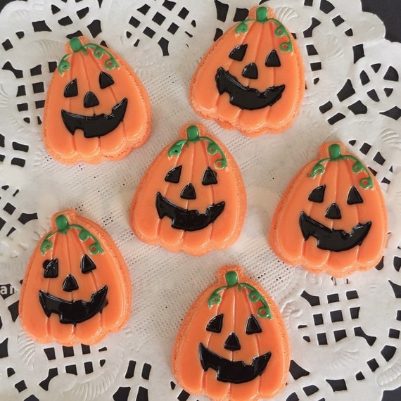 2pcs. 23x27mm.Miniature Cabochon pumpkin,Miniature Pumpkin,Miniature Sweet,Mobile Accessories,Miniature DIY,Miniature Halloween