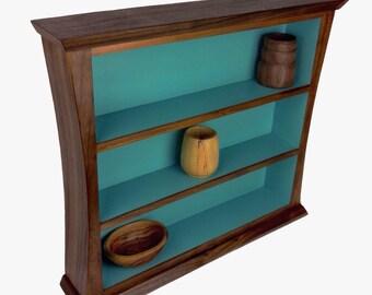 Walnut Display Shelf