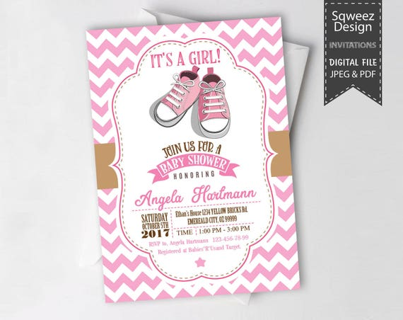 Baby shower invitation for baby girl shower invitations pink baby il570xn filmwisefo