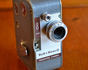 Vintage Bell & Howell 172 Movie Camera 8mm