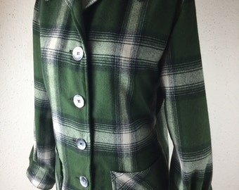Vintage 1940's-50's Swankys '49er style Ladies Shirt/Jacket S-XL