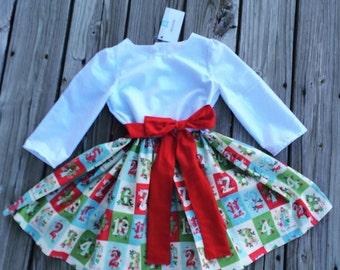 READY TO SHIP Christmas Dress