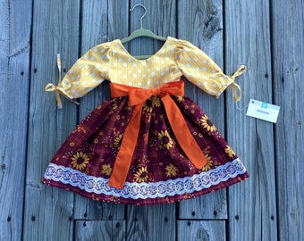 READY TO SHIP Sunflower Dress
