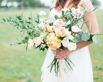 Custom Dried Bridal Bouquet