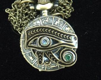 Eye of Horus Locket Watch