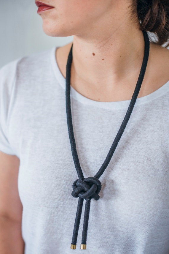 Lanyard Knot Necklace