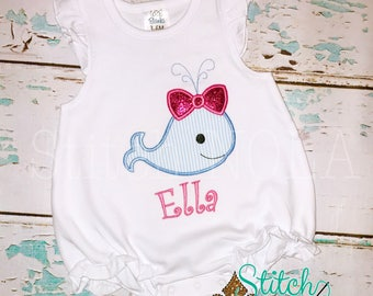 Girly Whale Bubble, Tee, Gown, or Bodysuit