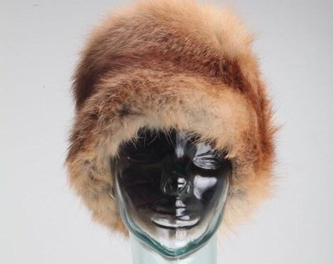Vintage Estate Fox Fur Hat