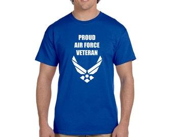 Proud Air Force Veteran Shirt