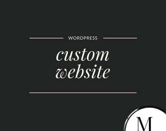 Custom website for small businesses