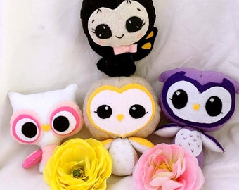 Surprise Plush Hoot Box - Cute Toy Kawaii Stuffed Animal
