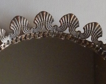 Small Vintage Mirrored Vanity Tray!