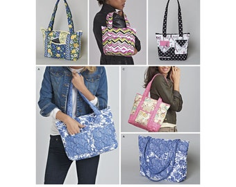 Simplicity Sewing Pattern 8310 Quilted Bags in Three Sizes