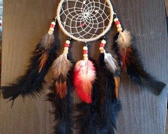 Handmade 4'' Boho Hippie Dream Catcher