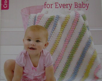 Crocheted Blankets for Every Baby Instruction Book