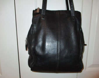 Vintage Hobo International leather shoulder bag
