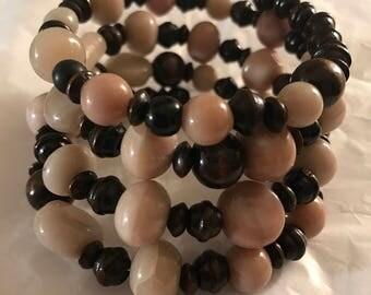 On Sale ! Wrap Beaded Bracelet