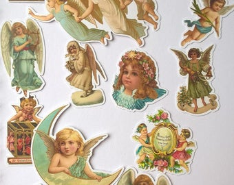 Ephemera - vintage angels