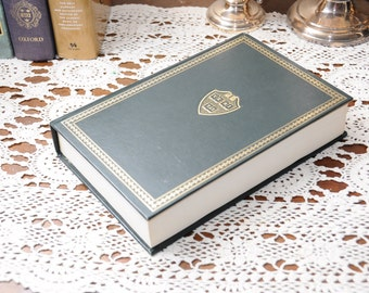 Vintage Veritas Hollow Book Safe w/ Optional Flask