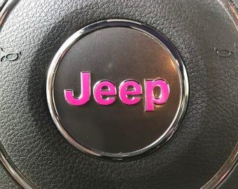 2011-17 OEM Steering Wheel Emblem Decal