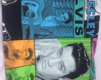 1 Fat Quarter Yard ELVIS Fabric /  Fabric By The Yard
