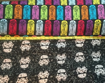 1/2 Yard Star Wars Fabric /  Fabric By The Yard / JERSEY Fabric