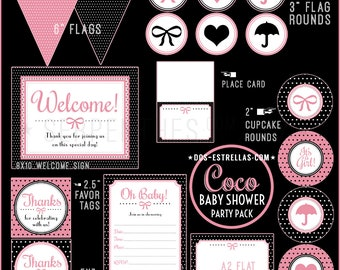COCO Baby Shower // Instant Download Shower Kit