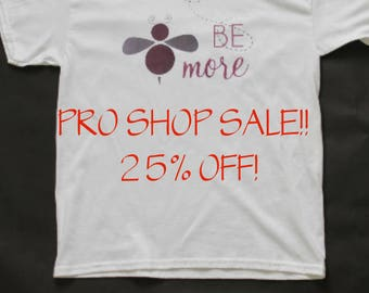 Be More White Tee Shirt - 25% OFF