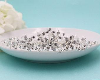 Swarovski Crystal Bridal tiara headpiece, wedding tiara, wedding headpiece, rhinestone tiara, crystal tiara, crystal bridal tiara 210713713