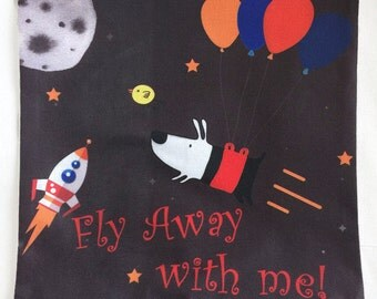 Fly Away With Me! - Pillow Cover